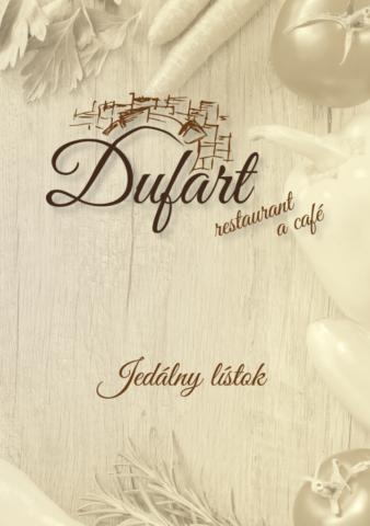 Dufart - jedálny lístok 2018 - 1/6